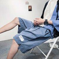 Herren Shorts Mode Designer Luxus Qualität Sommer Komfortabel 21 und atmungsaktiv lässig Lose Wide Bein Männer Capris DK48 / P25