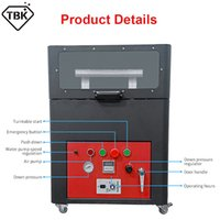 TBK 938 938M 2 Working Station Scratches Polishing Machine For iPhone 11 12Pro Max Samsung Mobile Phone Refurbish Glass Grinding