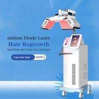 완벽한 강력한 빠른 복원 레이저 머리카락 성장 660nm 다이오드 레이저 탈모 치료 기계 Machineanti-hair 재성장 계시