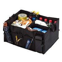 Auto Auto Trunk Aufbewahrungstasche Wasserdicht Faltbare Schwarz Protable Box Multi-Use Tools Organizer
