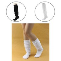 Socks & Hosiery Warm 1 Pair Chic Ladies Slouch Fashion Stockings Solid Color Clothing Accessories