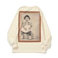 Outono Mens Hoodie Kanye West Impresso Donda ATL Exclusive Tee Algodão Camisola Com Capuz Pullover Homens Soltos Homens Mulheres Álbum Retrato CPFM Camisolas