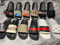 Classici Sandali Designer Pantofole Slips Broccato floreale Gear Bottoms Flip Flops Uomini Donne Donne Spiaggia Spiaggia Causal Slipper Home011 01
