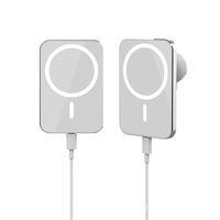 Support de chargeur sans fil de mont de voiture magnétique pour l'aéroport d'air pour iPhone 12 Pro Max Mini 15W avec boîte de vente au détail