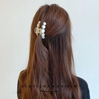 Hair Accessories Metal Sequins Headgear Hairpin Big Catch Clip Ponytail Girl Claw For Women