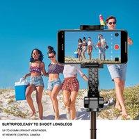 Pocket Handheld Stabilizer Gimbal Selfie Stick Tripod BT Alumínio Para Smartphone Telefone