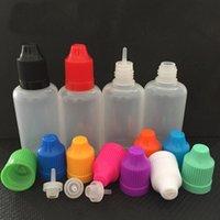 60ml 2 종류의 플라스틱 빈 바늘 Dropper LDPE 병 vape efic 오일 전자 주스 E- 액체 저장 용기 항아리 병