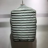 Topstoney 202ss News pattern konng gonng Vest autumn and winter thickened waistcoat fashion brand high version STONE men island clothing