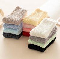 Winter Fuzzy Socks ladies Warm Fluffy Christmas Sock Wholesalers American Thermal towel stocking 12 colors