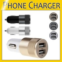Universal Best Metal Dual USB Port Car Charger 12 Volt   1 ~ 2 Amp for Samsung HTC LG Sony Huawei
