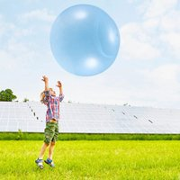 Party Decoration 120cm TPR Bubble Air Water Filled Balloon Ball Funny Toy Large Size Inflatable Toys For Kids Outdoor Beach