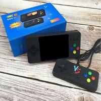 K8 المحمولة الزوجي محمول التلفزيون لعبة فيديو وحدة التحكم البسيطة مربع 500 في 1 أركيد لعب ألعاب لاعب