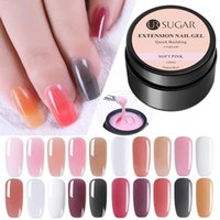 SUGAR Poly Building Gel Crystal Jelly Extension Nail UV LED Hard Acrylic Builder Art Polymer 30ml1