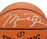 Michael Anna imzalı imzalı imzalı Otomatik Kapı spor toplama basketbol topu