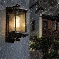 Outdoor Wall Lamps Waterproof Light Creative LED Corridor Aisle Balcony Garden