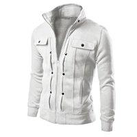 Men's Hoodies & Sweatshirts Unisex Denim Jacket Cotton Top Fashion Mens Slim Designed Lapel Cardigan Coat Windbreaker Jackets Outwear Sporti