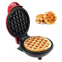 Pişirme Kalıpları Mini Elektrikli Waffle Maker Kabarcık Yumurta Kek Fırında Kahvaltı Waffle Makinesi Mutfak Eggette Pot