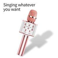 마이크 오디오 오디오 무선 블루투스 휴대 전화 노래 노래방 파티 홈 스피커 어린이 가족 마술 튜닝 마이크