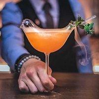 Personnalité Birdie en forme de cocktail en forme de cocktail molécule de cupule fumée oiseau champagne goblet Swig pour la tasse de famille Shot x0703