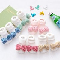 Cotton Baby Socks Candy Color Anti Slip Toddler Infant Girl ...