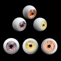 Accesorios para fumar 22mm OD Vidrio Marble Terp Slurper Pearl con 3 colores Traje para cuarzo Banger Clavo Agua Bongs