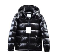Mens Women Down Jackets Parka Classic Casual Coats Outdoor Warm Feather Winter Jacket Unisex Coat Outwear Couples Clothing