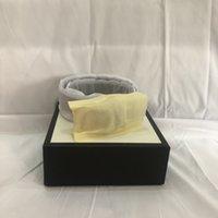 Ceinture de luxe de la ceinture hommes femmes grandes boucles d'or véritable cuir classique CEINTURE WIDTH 2.0 3.0 3.4 3.8 avec boîte