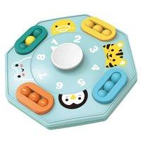 Party Favor Kreative Spaß blau Cartoon Spin Magic Disc Magic Bean Fingertip Kinder Spielzeug Finger Top Puzzle Erwachsene Dekompression Relaxation Board Spiel