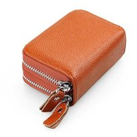 Wallets Fashion Pu Leather Zipper Wallet For Women Clutch Bag Card Holder Female Folding Small Coin Purse Money Change Pouch Key Storage