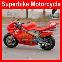 2021 Top Mini Motorfiets Kleine Sports Moto Bike Gloednieuwe Benzine Autocycle Side Race Motor Scooter Motor Hand Start 49CC 50cc 2-takt Real Autobike Motocycle