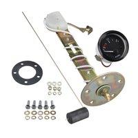 Evrensel 2 inç 52mm Yakıt Seviyesi Ölçer Ölçer Araba Yakıt Sensörü E-1/2-F Pointer