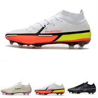 Nike Erkek Kadın Kız Mercurial Superfly VI 360 Elite Ronaldo FG ACC Futbol Ayakkabı Chaussures Erkek Futbol Çizmeler Çocuk Neymar Futbol Cleats