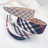 5 стиль старинные сетки полоса печатают известные бренд ткань женщин роскоши дизайнеры дизайнеры для волос для волос аксессуары для волос для девочек дизайнер повязка на голову 4см