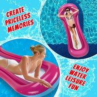 Надувные поплавки пробирки бассейн поплавок сетка плавающая кровать летний пляж Floady Party игрушки для вечеринок