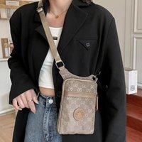2021 marca marca design personalidade móvel sacos feminino crossbody pendurado pano de pano pequeno mudança de verão mini saco