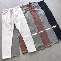 Tanrı Korkusu Essentials Pisti Pantolon Sis Yansıtıcı Casual Hafif Pantstroters Erkekler Kadınlar Hip Hop Streetwear