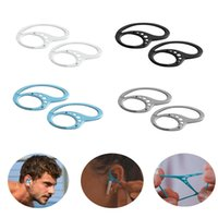 Accessoires d'écouteurs 4 couleurs Keepieds silicone Headsque Bluetooth Titulaire anti-goutte avec boîte Sprot Couverture de protection casque de sécurité Couvercle de protection