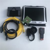 for bmw icom a2 with so-ftware diagnostic tool for bmw latest 2021-06 1TB HDD with Expert Mode in CF-19 Laptop Used Computer 4G