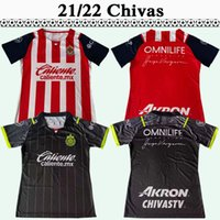 2021 2022 Chivas i.Brizuela Herren Fußballtrikots A.Vega G.Sepulveda M.Ponce J.ANGULO F.BELTRAN L.OLIVAS FUSSBALL HEMD KURZLE SHUMEN Uniformen