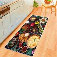 Carpets Boreal Europe Style Food Kitchen Mat Bedroom Living Room Carpet Doormat Home Hallway Balcony Floor Bathroom Long Tapis Rug