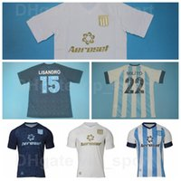 20-21 Soccer Racing Club De Avellaneda Jersey Dominguez 15 Lisandro Lopez 28 Federico Zaracho 10 Ricardo Centurion Football Commet