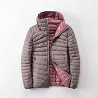 Newbang Brand Women Duck Coats Ultra Light Down Jacket Lieghtweight Double Side Reversible Jackets 's Windbreakers