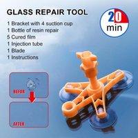자동차 청소 도구 1 PCS Windshield 수리 키트 창 유리 스크래치 균열 복원 화면 연마 양식 용품