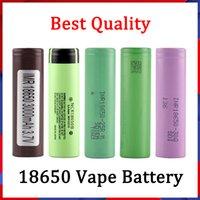 좋은 품질 18650 배터리 HG2 30Q VTC6 3000mAh NCR 3400mAh 25R 2500mAh E Cig Mod 재충전 용 리튬 이온 셀