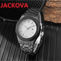Super luminous montre de luxe all the crime watch quartz watches dial work, leisure fashion scanning tick sports watchs solid full stainless steel bracelet