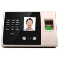 Dispositivo da máquina do reconhecimento do tempo do reconhecimento do tempo do reconhecimento da impressão digital do facial da cara biométrica