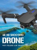 Drones CEVENNESFE 2021 Drone 4K 1080P HD LIFIGE Caméra à double angle WIFI FPV Hauteur de positionnement Gardez le cadeau de hélicoptère RC pliable