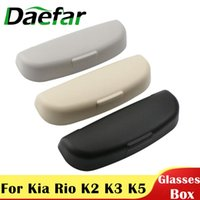 Other Interior Accessories Daefar ABS Car Sunglasses Holder Box For Kia Rio K2 K5 SOUL Carato Forte Sportage KX5 QL Sorento Glasses Case