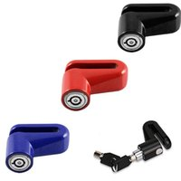 Theft Protection Heavy Duty Motorcycle Moped Scooter Disk Brake Rotor Lock Security Anti-Theft Accessories