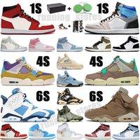 air jordan retro jordans Jumpman 1 1S Mens de basketball Chaussures GS Mid Numérique Rose High Og Blue sans peur The Great Unc Femmes Entraîneurs Sneakers